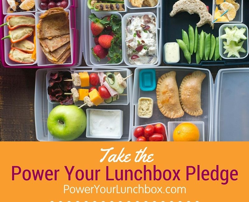 The the Pledge to Power Your Lunchbox