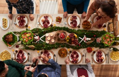 eating healthy during the holidays