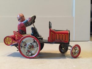 antique tin toy keepsake