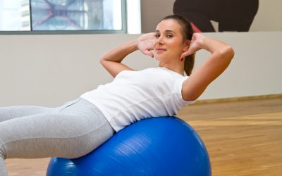 Five exercises to do with your big fitness ball